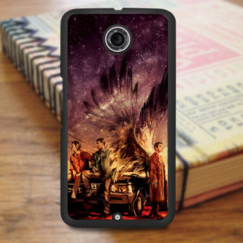 Supernatural Painting Art Horror Tv Series Nexus 6 Case