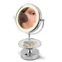 The Most Convenient Vanity Mirror - Hammacher Schlemmer
