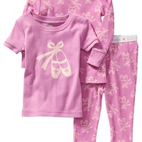 Old Navy Patterned 3 Piece Sleep Sets For Baby