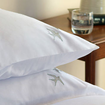 Swallows Egyptian Cotton Pillowcase