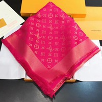 Louis Vuitton Women Scarf Shawl Silk Scarf-11