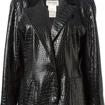 Yves Saint Laurent Vintage faux leather jacket