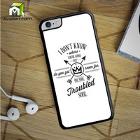 Fall Out Boy Lyric iPhone 6S Plus Case by Avallen