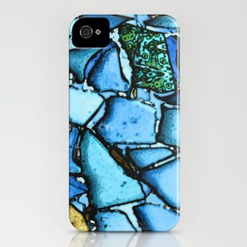 Beach Glass Mosaic iPhone Case by Ingrid Padilla  | Society6