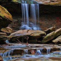 Blue Hen Falls In Cuyahoga Valley National Park by Dan Sproul
