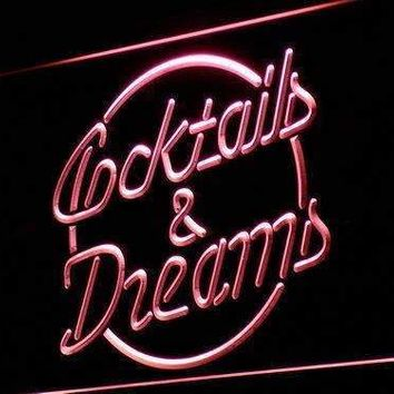 Cocktails and Dreams II Neon Sign (LED)