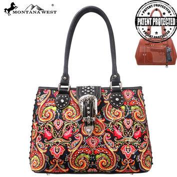 Montana West MW116G-8332 Concealed Carry Handbag
