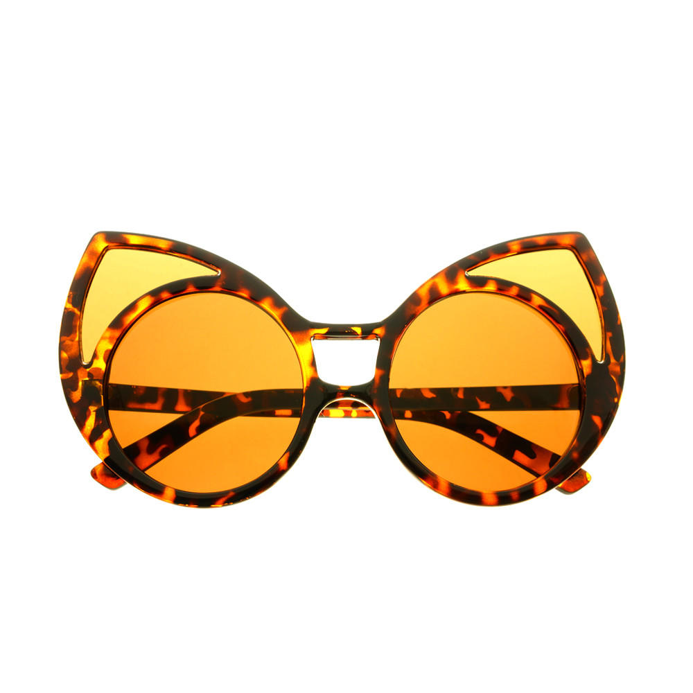 cf1247a023a Funky Extra Large Cute Womens Oversized Cat Eye Sunglasses C1600
