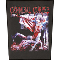 Cannibal Corpse Men's Tomb Of The Mutilated Back Patch Black