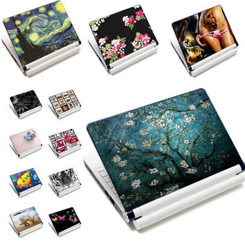 "7"" 10"" 12"" 13"" 13.3"" 14"" 15"" 15.6"" Laptop Skin Notebook Decal vinly Stickers Cover Tablet  Protector For LENOVO HP DELL ACER"