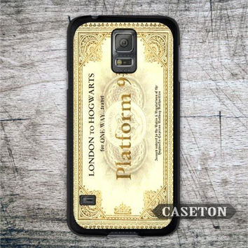 Hogwarts Express Train Ticket Harry Potter Case For Samsung Galaxy S7 S6 Edge Plus S5 S4 Active S3 mini Win Note 4 3 Core 2 Ace