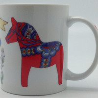 Swedish Gift 3 Graphic Ceramic Coffee Mug