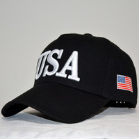 Usa American Flag Vintage Distressed Baseball Caps Hat