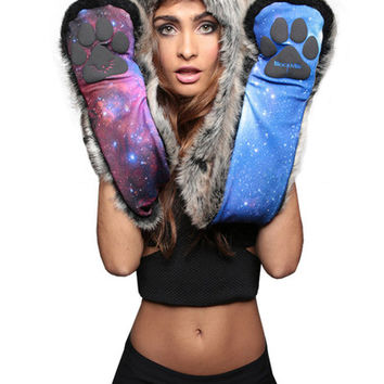 BLACK MILK GALAXY WOLF