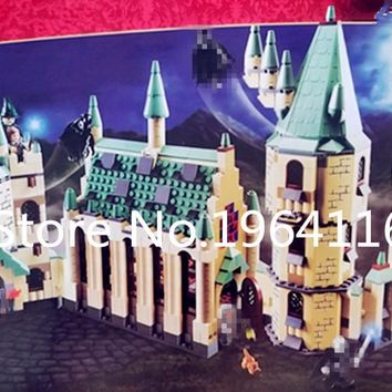 New 16030 Creator series the Hogwarts Castle model Building Blocks compatible 4842 classic house Architecture toy for children