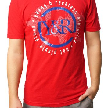 Young & Reckless Men's Worldwide Graphic T-Shirt