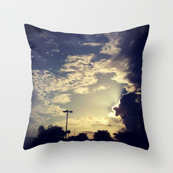 Missing Puzzle Piece Throw Pillow by Devin Stout