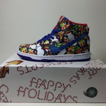 PEAP Nike Dunk SB High Concept Ugly Sweater Black