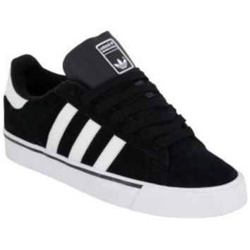 adidas Campus Vulc - Men's - Skate - Shoes - Black/White