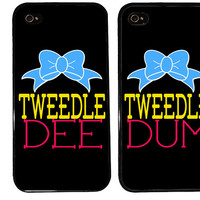 Bff Case / Tweedle DEE Tweedle DUM iPhone 4 Case Best Friends iPhone 5 Case iPhone 4S Case iPhone 5S Case One 4 Your BFF Phone Case Funny