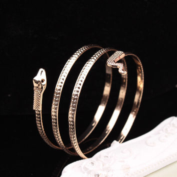 New Arrival Gift Great Deal Awesome Stylish Shiny Hot Sale Accessory Strong Character Metal Bangle Ring Bracelet [6573094087]