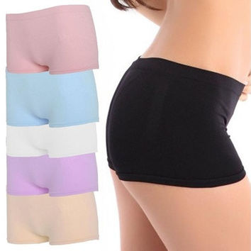Wonderful Newest Women Ventilation Yoga Sports Gym Workout Waistband Skinny Shorts Pants [9305901767]