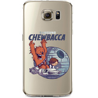 Star Wars Chewbacca Jelly Clear Case for Samsung Galaxy S7