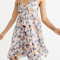 Womens Ruffle Babydoll Dress | Womens Dresses & Rompers | Abercrombie.com