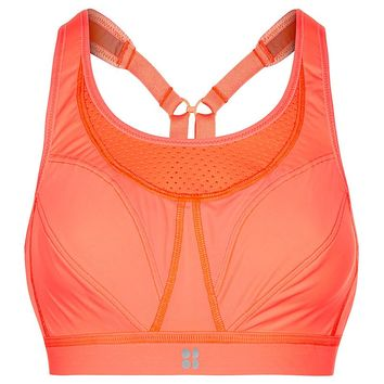 Ultra Run Bra - CoralCandy | Sports Bras | Sweaty Betty