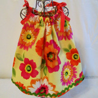 Made to Order, Peach Floral Handmade 18