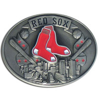 Boston Red Sox MLB Enameled Belt Buckle