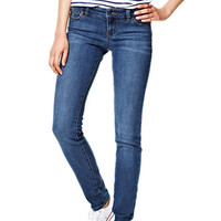 Olivia Low-Rise Jeggings in Queen Dark - Dark Blue