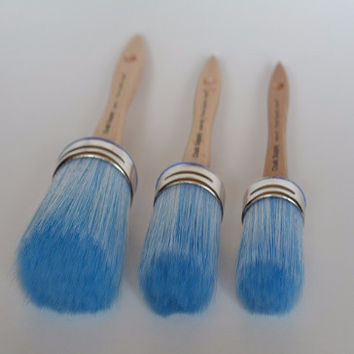 Chalk Supply Synthetic Krex Bristle- Paint and Wax Brush