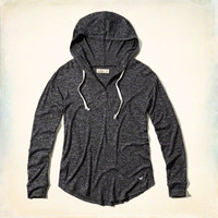 Iconic Textured Tunic Hoodie