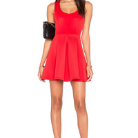 Lovers + Friends x REVOLVE Flawless Fit & Flare Dress in Red