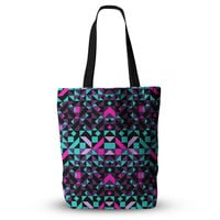 "Vasare Nar ""Geometric Galaxy"" Magenta Digital Everything Tote Bag"