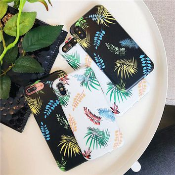 Tropical Plants Phone Case