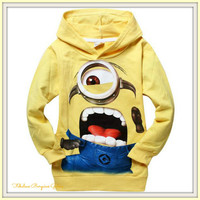 Unisex Screaming Minion Hoodie