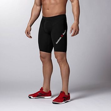 Reebok Men's Reebok CrossFit CNTRL II Compression Short Shorts | Official Reebok Store