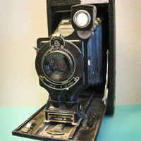 Antique Kodak 2C Autographic Junior Camera by timepassagesshop