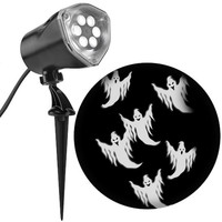Lightshow® Whirl-A-Motion Ghost Projection, White