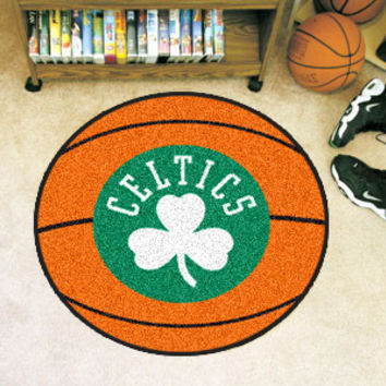 Boston Celtics Basketball Mat