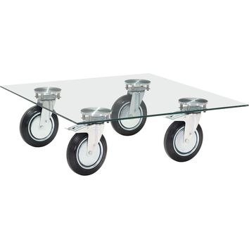 Belle Coffee Table, Clear