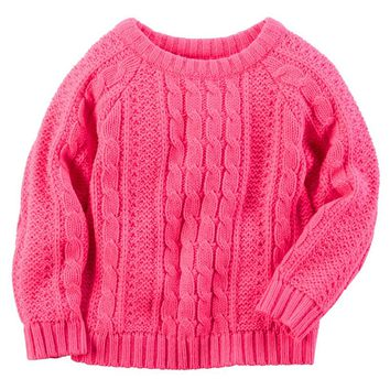Carter's Cable Knit Sweater - Girls