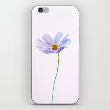 one purple cosmos iPhone & iPod Skin by Colorful Nature