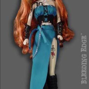 "Begoths Atara Inferno Bleeding Edge Series 7 12"" Doll"