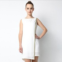Simple Design White Dress - Designer Shoes|Bqueenshoes.com