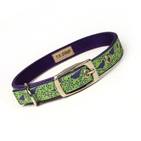 Lime And Purple Modern Birds Metal .. on Luulla