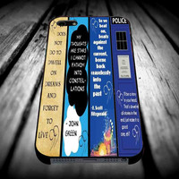 Doctor Who The Great Gatsby The Fault in Our Stars Harry Potter for iPhone 4/4s/5/5s/5c/6/6 Plus Case, Samsung Galaxy S3/S4/S5/Note 3/4 Case, iPod 4/5 Case, HtC One M7 M8 and Nexus Case ***