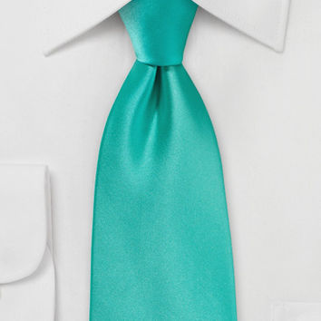 Men's Necktie in Mermaid Color - ties shop - yellow/green